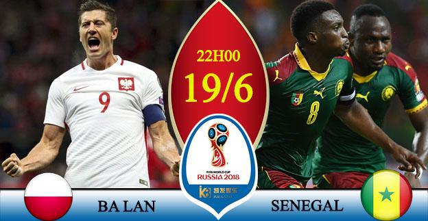 Soi kèo World Cup Ba Lan - Senegal