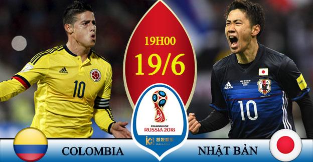 Soi kèo World Cup Colombia - Nhật Bản