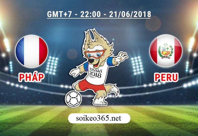 Soi kèo World Cup Pháp - Peru