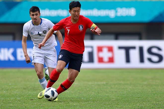 Son Heung Min đã chuẩn bị tinh thần trước trận gặp U23 Việt Nam