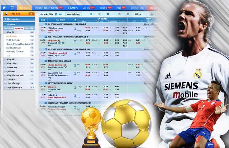 Tỷ lệ bóng đá 2