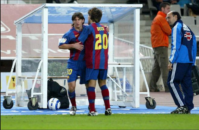 14 năm Messi được Barca ra mắt