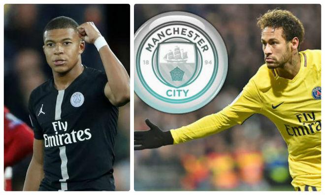 Man City muốn có Neymar