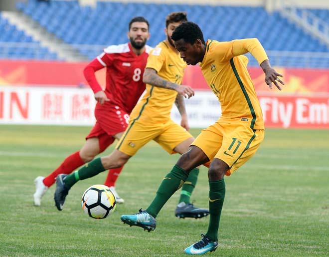 Soi kèo U23 Australia vs U23 Syria
