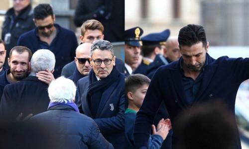 Cả thế giới xúc động trước hình ảnh sao bóng đá và ngàn người hâm mộ đưa tang hậu vệ Italia