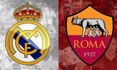 Link Sopcast Real Madrid vs Roma 7h05 ngày 8/8