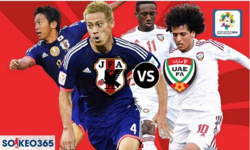 Soi kèo U23 Nhật Bản vs U23 UAE, 19h30 ngày 29/8