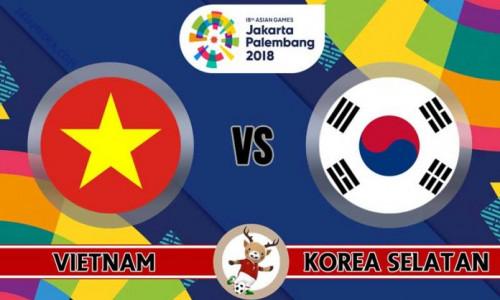 Link Sopcast, Acestream U23 Việt Nam vs U23 Hàn Quốc 16h00 ngày 29/8 – Asiad 2018
