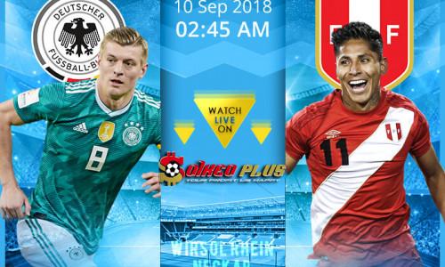 Link Sopcast, Acestream Đức vs Peru, 1h45 ngày 9/9/2018
