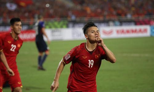 Quang Hải là cầu thủ có phong độ tốt nhất của đội tuyển Việt Nam