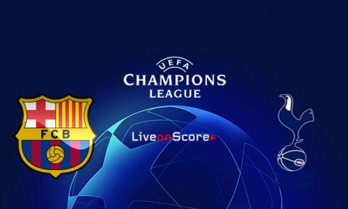Link Sopcast, Acestream Barcelona vs Tottenham, 3h00 ngày 12/12: UEFA Champions League