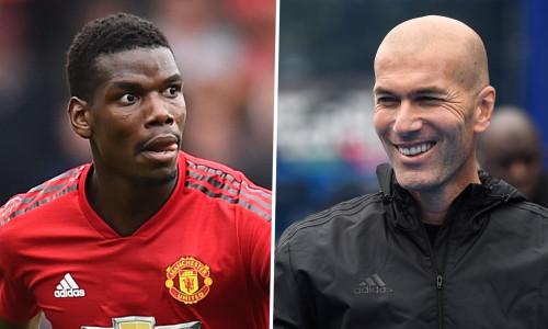 """HLV Zidane công khai """"thả thính"""" Pogba, muốn giữ Varane, chê Mbappe đắt"""