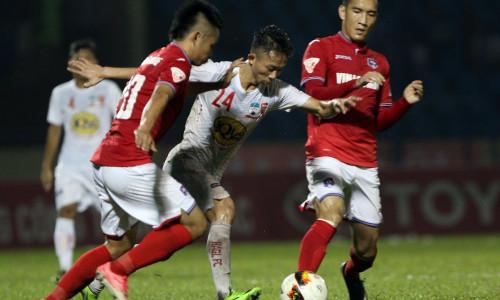 Kèo nhà cái Hoàng Anh Gia Lai vs Quảng Ninh – Soi kèo bóng đá 17h00 ngày 13/4/2019