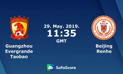 Kèo nhà cái Guangzhou Evergrande vs Beijing Renhe – Soi kèo bóng đá 18h35 ngày 29/5/2019