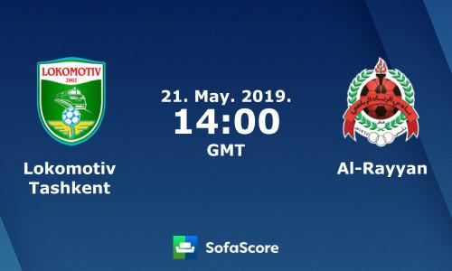 Kèo nhà cái Lokomotiv Tashkent vs Al Rayyan – Soi kèo bóng đá 21h00 ngày 21/5/2019