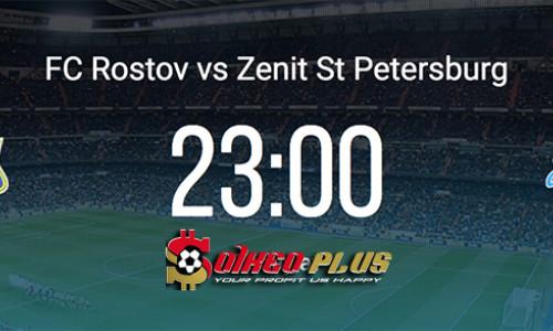 Kèo nhà cái Rostov vs Zenit – Soi kèo bóng đá 23h00 ngày 19/5/2019
