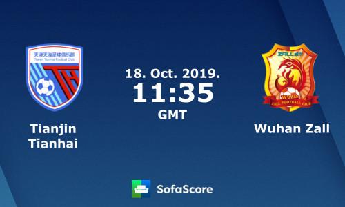 Kèo nhà cái Wuhan Zall vs Tianjin Tianhai – Soi kèo bóng đá 18h35 ngày 25/5/2019