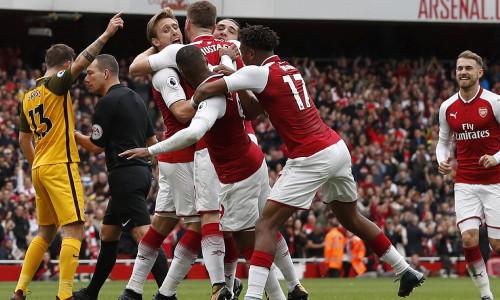 Kèo nhà cái Arsenal vs Brighton – Soi kèo bóng đá 22h30 ngày 5/5/2019