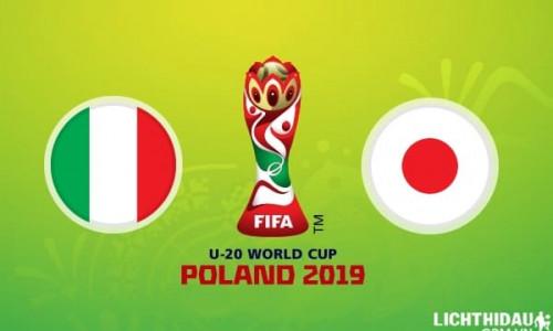 Link Sopcast, Acestream  U20 Italia vs U20 Nhật Bản, 23h00 ngày 29/5/2019