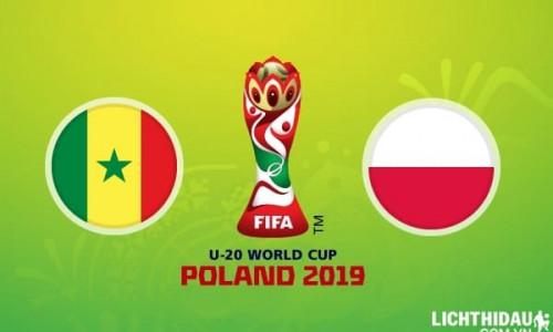Link Sopcast, Acestream U20 Ba Lan vs U20 Senegal, 01h30 ngày 30/05/2019