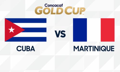 Kèo nhà cái Cuba vs Martinique – Soi kèo bóng đá 07h00 ngày 20/6/2019