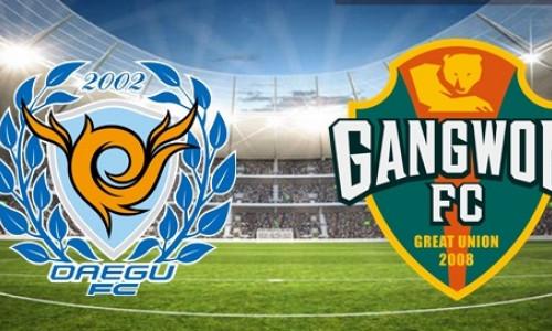 Kèo nhà cái Daegu vs Gangwon – Soi kèo bóng đá 17h30 ngày 15/6/2019