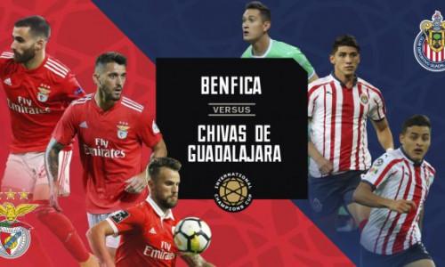 Tỷ lệ soi kèo nhà cái Benfica vs Guadalajara 03h00 ngày 21/7