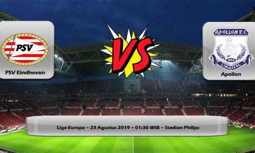 Soi kèo PSV vs Apollon 01h30 ngày 23/8 – Kèo nhà cái bóng đá