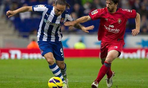 Soi kèo Osasuna vs Espanyol vào 18h ngày 8/3/2020