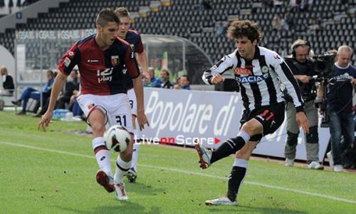 Soi kèo Udinese vs Genoa vào 0h30 ngày 6/7/2020