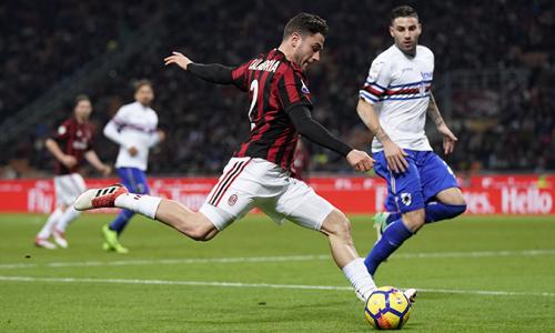 Kèo nhà cái, soi kèo Sampdoria vs Milan 02h45 ngày 7/12, Giải VĐQG Ý