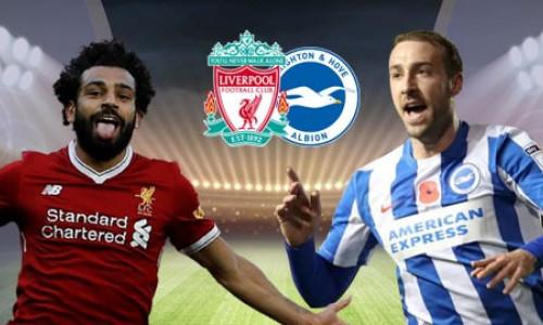 Soi kèo Liverpool vs Brighton 23h30 ngày 25/8