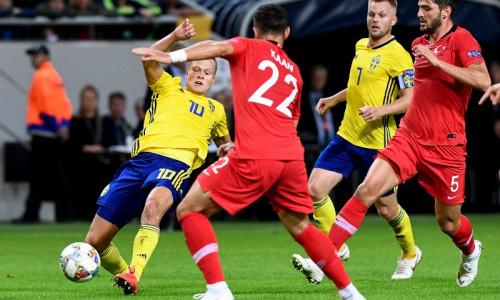 Soi kèo Thổ Nhĩ Kỳ vs Thụy Điển, 00h00 ngày 18/11 UEFA Nations League 2018/19