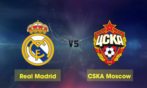 Link Sopcast, Acestream Real Madrid vs CSKA Moscow, 00h55 ngày 13/12/2018
