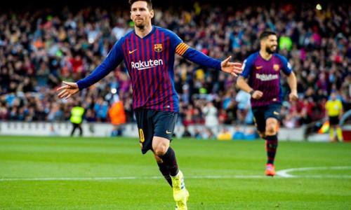 Đua Chiếc giày Vàng châu Âu 2018/19: Messi bỏ lại xa các đối thủ!