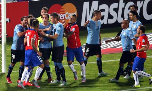 Kèo nhà cái Chile vs Uruguay – Soi kèo bóng đá 06h00 ngày 25/6/2019