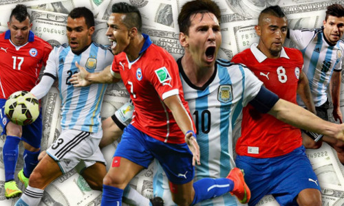 Tỷ lệ soi kèo nhà cái Argentina vs Chile – 02h00 ngày 07/07/2019