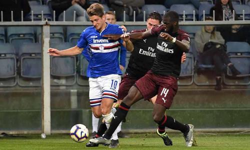 Kèo nhà cái, soi kèo Milan vs Sampdoria 17h30 ngày 3/4, Giải VĐQG Ý